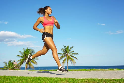 Sporty mixed race woman jogging-img-blog