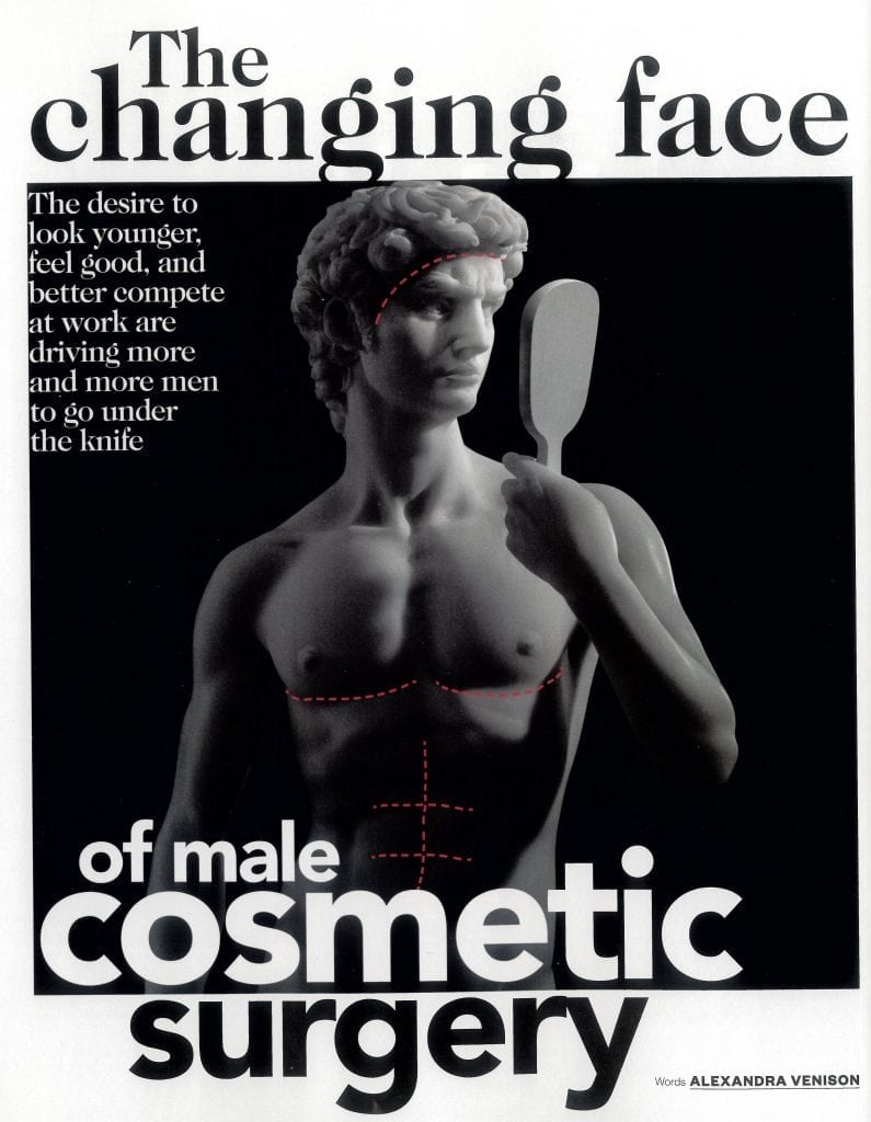 Vogue Man Article Graphic