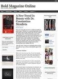 Bold Magazine Dr. Mendieta